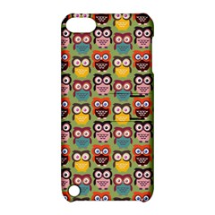 Eye Owl Colorful Cute Animals Bird Copy Apple iPod Touch 5 Hardshell Case with Stand