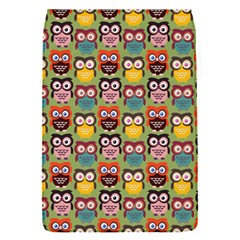 Eye Owl Colorful Cute Animals Bird Copy Flap Covers (S)