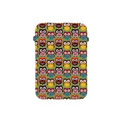 Eye Owl Colorful Cute Animals Bird Copy Apple iPad Mini Protective Soft Cases