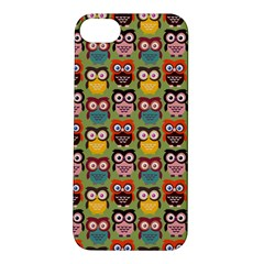 Eye Owl Colorful Cute Animals Bird Copy Apple iPhone 5S/ SE Hardshell Case