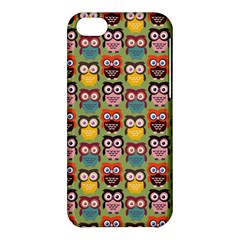 Eye Owl Colorful Cute Animals Bird Copy Apple iPhone 5C Hardshell Case