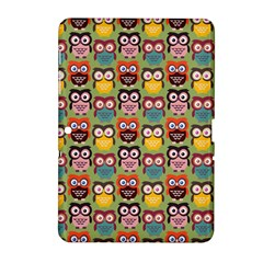 Eye Owl Colorful Cute Animals Bird Copy Samsung Galaxy Tab 2 (10.1 ) P5100 Hardshell Case