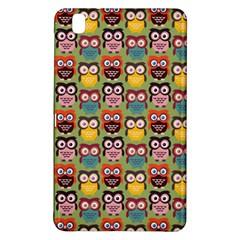 Eye Owl Colorful Cute Animals Bird Copy Samsung Galaxy Tab Pro 8.4 Hardshell Case