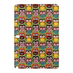 Eye Owl Colorful Cute Animals Bird Copy Samsung Galaxy Tab Pro 12.2 Hardshell Case