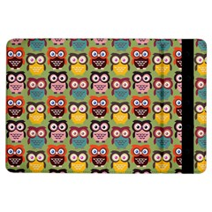 Eye Owl Colorful Cute Animals Bird Copy iPad Air Flip