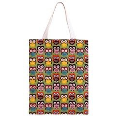 Eye Owl Colorful Cute Animals Bird Copy Classic Light Tote Bag