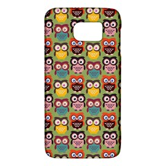Eye Owl Colorful Cute Animals Bird Copy Galaxy S6