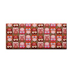 Eye Owl Colorfull Pink Orange Brown Copy Cosmetic Storage Cases