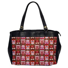 Eye Owl Colorfull Pink Orange Brown Copy Office Handbags