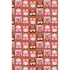 Eye Owl Colorfull Pink Orange Brown Copy 5.5  x 8.5  Notebooks