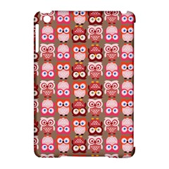 Eye Owl Colorfull Pink Orange Brown Copy Apple iPad Mini Hardshell Case (Compatible with Smart Cover)