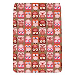 Eye Owl Colorfull Pink Orange Brown Copy Flap Covers (L)