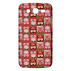 Eye Owl Colorfull Pink Orange Brown Copy Samsung Galaxy Mega 5.8 I9152 Hardshell Case