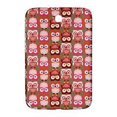 Eye Owl Colorfull Pink Orange Brown Copy Samsung Galaxy Note 8.0 N5100 Hardshell Case