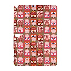 Eye Owl Colorfull Pink Orange Brown Copy Galaxy Note 1