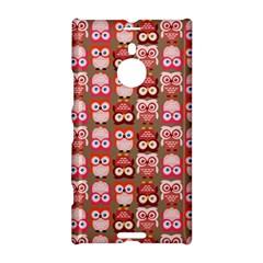Eye Owl Colorfull Pink Orange Brown Copy Nokia Lumia 1520