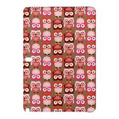 Eye Owl Colorfull Pink Orange Brown Copy Samsung Galaxy Tab Pro 10.1 Hardshell Case