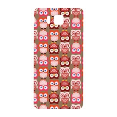 Eye Owl Colorfull Pink Orange Brown Copy Samsung Galaxy Alpha Hardshell Back Case