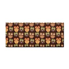 Eye Owl Line Brown Copy Cosmetic Storage Cases