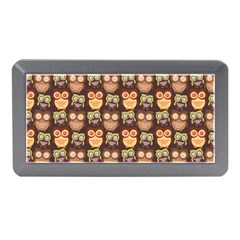 Eye Owl Line Brown Copy Memory Card Reader (Mini)