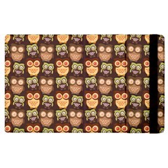 Eye Owl Line Brown Copy Apple iPad 2 Flip Case
