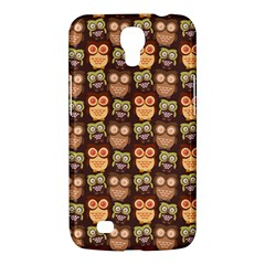 Eye Owl Line Brown Copy Samsung Galaxy Mega 6.3  I9200 Hardshell Case