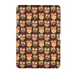 Eye Owl Line Brown Copy Samsung Galaxy Tab 2 (10.1 ) P5100 Hardshell Case
