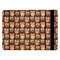 Eye Owl Line Brown Copy Samsung Galaxy Tab Pro 12.2  Flip Case