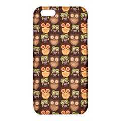 Eye Owl Line Brown Copy iPhone 6/6S TPU Case