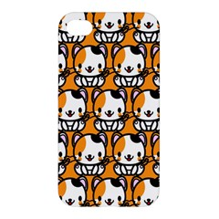 Face Cat Yellow Cute Apple iPhone 4/4S Hardshell Case