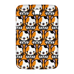 Face Cat Yellow Cute Samsung Galaxy Note 8.0 N5100 Hardshell Case