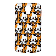 Face Cat Yellow Cute Galaxy S4 Active