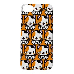 Face Cat Yellow Cute Apple iPhone 5S/ SE Hardshell Case