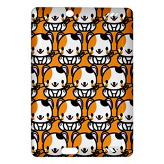 Face Cat Yellow Cute Amazon Kindle Fire HD (2013) Hardshell Case