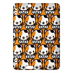 Face Cat Yellow Cute Kindle Fire HDX Hardshell Case