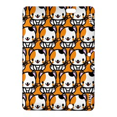 Face Cat Yellow Cute Kindle Fire HDX 8.9  Hardshell Case