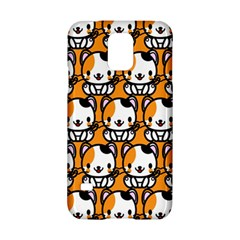 Face Cat Yellow Cute Samsung Galaxy S5 Hardshell Case