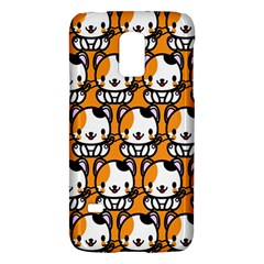 Face Cat Yellow Cute Galaxy S5 Mini