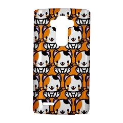 Face Cat Yellow Cute LG G4 Hardshell Case