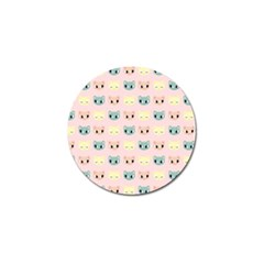 Face Cute Cat Golf Ball Marker (10 pack)