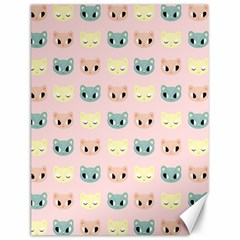 Face Cute Cat Canvas 12  x 16