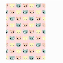 Face Cute Cat Small Garden Flag (Two Sides)