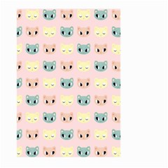 Face Cute Cat Large Garden Flag (Two Sides)