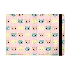 Face Cute Cat Apple iPad Mini Flip Case