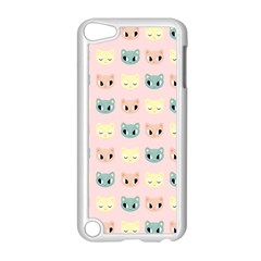 Face Cute Cat Apple iPod Touch 5 Case (White)