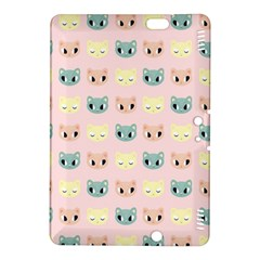 Face Cute Cat Kindle Fire HDX 8.9  Hardshell Case
