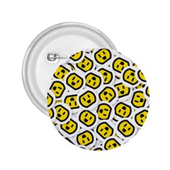 Face Smile Yellow Copy 2.25  Buttons