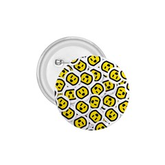 Face Smile Yellow Copy 1.75  Buttons