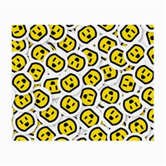 Face Smile Yellow Copy Small Glasses Cloth