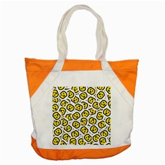 Face Smile Yellow Copy Accent Tote Bag